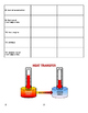 Thermal Energy Vocabulary