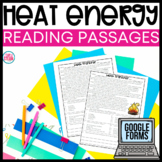 Heat Energy Reading Passages - Thermal Energy