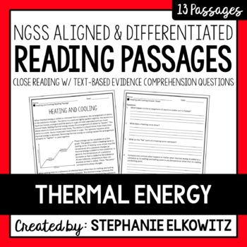 Thermal Energy and Heat Reading Passages