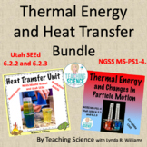 Thermal Energy and Heat Transfer Bundle MS NGSS PS1-4