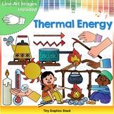 Thermal / Heat Energy Clip Art