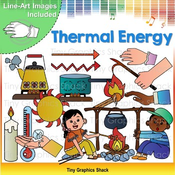 Thermal / Heat Energy Clip Art