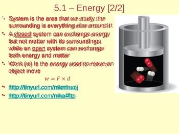 Thermochemistry Energy