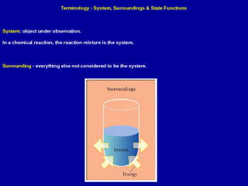 Thermodynamics Explained - Chemistry Quick Review (Presentation & Handout)