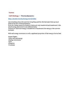 Thermodynamics VL