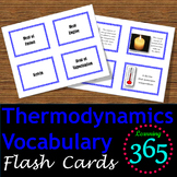 Thermodynamics Vocabulary Flash Cards