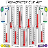 Thermometer Clip Art   Measuring Temperature