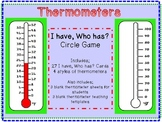Thermometer I Have, Who Has? Temperature Game