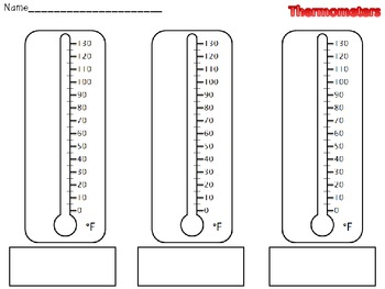 thermometer i have who has temperature game by that 39 s so elementary. Black Bedroom Furniture Sets. Home Design Ideas