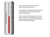 Thermometer Model (PowerPoint)