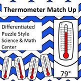Thermometer and Temperature Match Up Self Correcting Scien