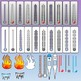 Thermometers Clipart
