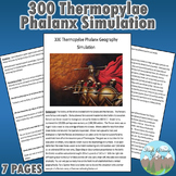 300 Thermopylae Phalanx Simulation Ancient Greece (World History / Geography)