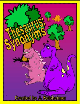 Thesaurus Practice / Synonyms