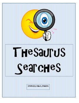 Thesaurus Searches bundled