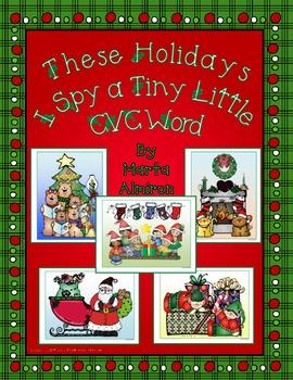 These Holidays, I Spy a Tiny Little CVC Word