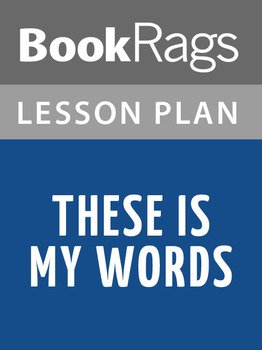 These Is My Words Lesson Plans