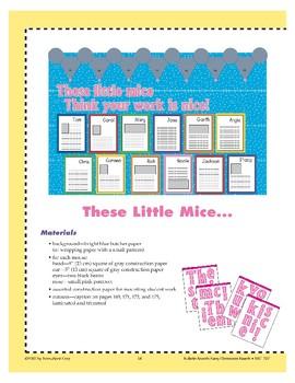These Little Mice... (Bulletin Board)