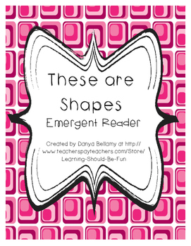 These are Shapes Emergent Reader