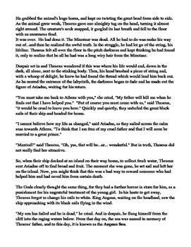 Theseus And the Minotaur Ancient Greece Fiction Ancient Greece Greek Myth