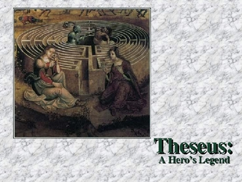 Theseus Legend Myth Slideshow