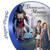 Theseus and the Minotaur Paper People and Greek Myth