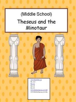 Greek Mythology - Theseus and the Minotaur  - Middle School