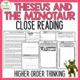 Theseus and the Minotaur Traditional Literature Comprehension Passages