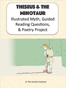 Theseus & the Minotaur: Greek Mythology Reading & Activities