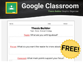 Thesis Builder For Google Classroom