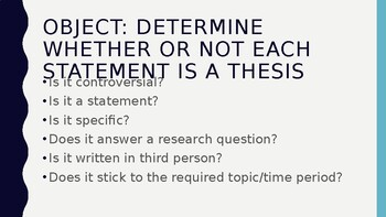 Thesis Or No Thesis Review