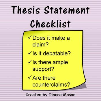 Dissertation research questionhypothesis