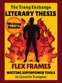Thesis Statement Practice:  Sentence Frames (Writing Bundle)