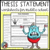 Thesis Statement Mini-lesson - Argumentative Essay