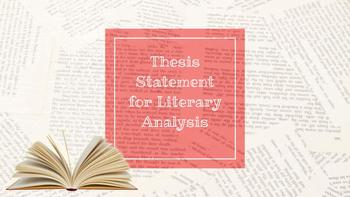 Thesis Statement Slideshow w/ Notes