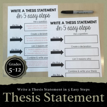 thesis statement tutorial write a thesis statement in  easy steps originaljpg