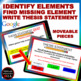Thesis Statement Distance Learning Packet