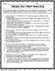 Thesis Statement Worksheet Packet & Printables