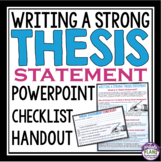 THESIS STATEMENT WRITING