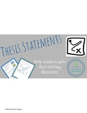 Thesis Statements- Give Students' Writing Direction!