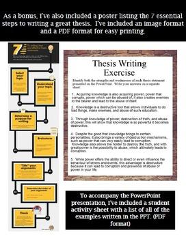 custom thesis writing service