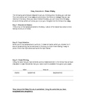 Thesis Writing: Essay Brainstorm Page