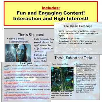 Thesis : Writing PowerPoint