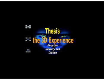 Thesis : Writing Powerful PREZI