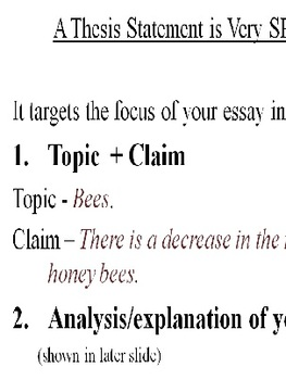 Thesis Writing and Essay Template