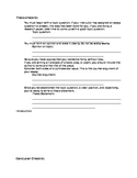 Thesis and Conclusion Checklists
