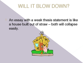 Thesis statements made easy