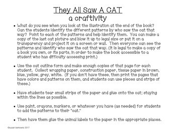 They All Saw A CAT Describing and Point of View for Speech Language