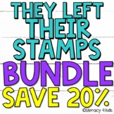 They Left Their Stamps Research Project Templates BUNDLE