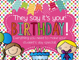 They Say It's Your Birthday! - Birthday Pack